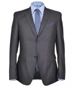 Tre Piece Mænds jakkesæt Størrelse 50 Anthracite Grey
