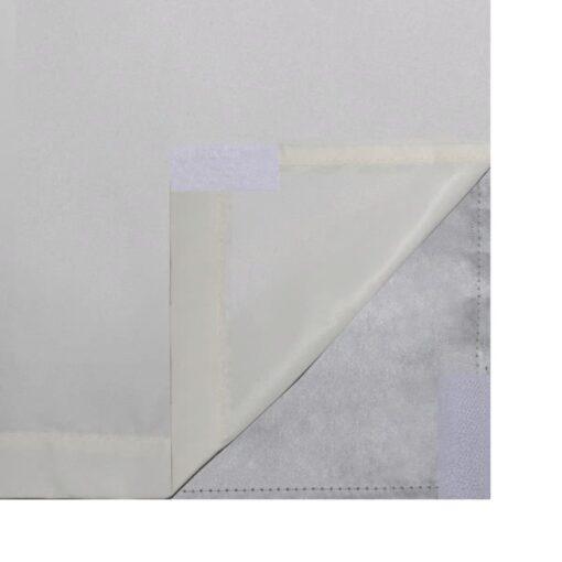 vidaXL mørklægningsgardiner 2 stk. dobbelt lag 140 x 245 cm creme