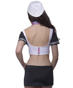 4 billeder Sexy Sailor Lingeri Set Str S / M