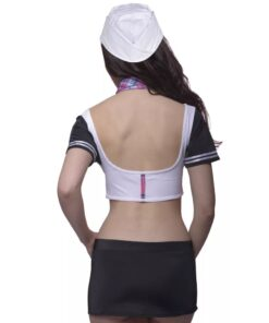 4 stk Sexy Sailor Lingeri Set Str L / XL