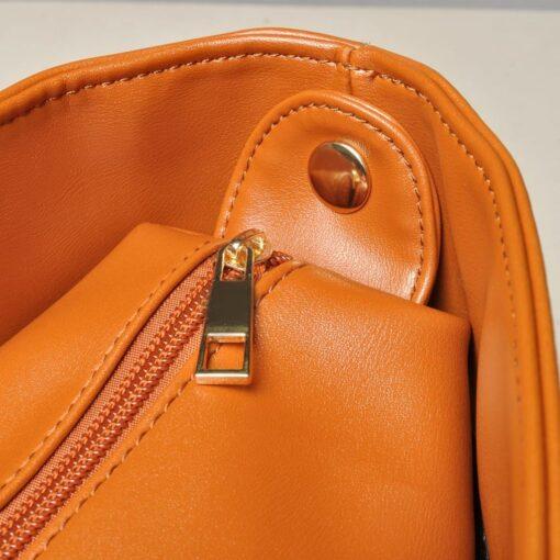 vidaXL håndtaske kamelfarve