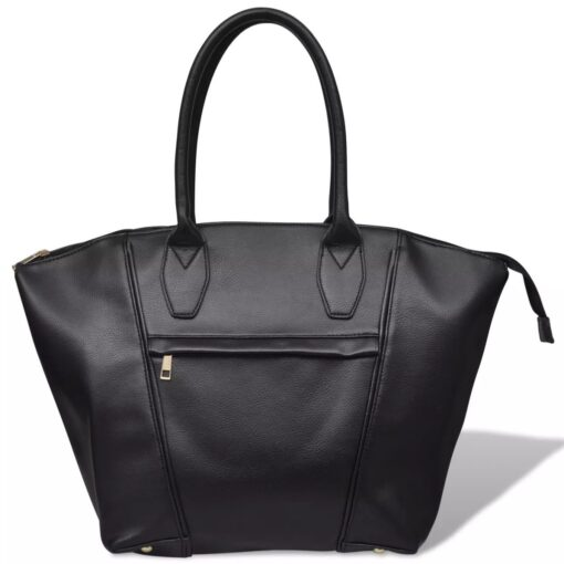 Sort firkantet taske