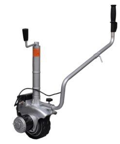 vidaXL motoriseret støttehjul til trailer aluminium 12 V 350 W