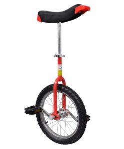 Justerbar ethjulet cykel 16 tommer rød