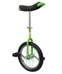 Justerbar ethjulet cykel 16 tommer grøn