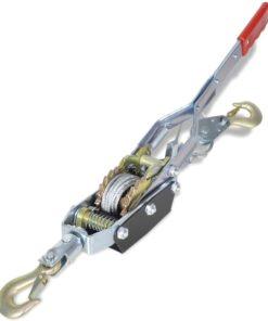 vidaXL kabeltrækker til 1815 kg med 2 gear