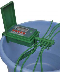 Automatisk Vandingsanlæg vandsprinkler timer