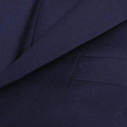 Jakkesæt i tre dele til mænd, størrelse 48, mørkeblå