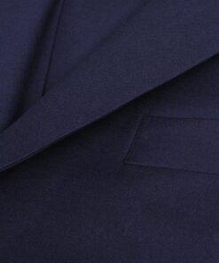 vidaXL herrejakkesæt i tre dele størrelse 50 marineblå