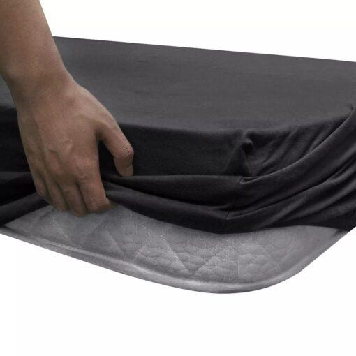 Tilpasset lagen til madras 2 stk. 140 x 200 – 160 x 200 cm bomuldsjersey