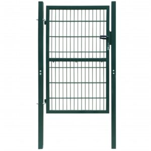 2D havelåge (enkelt), grøn, 106×190 cm