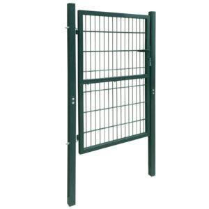 2D havelåge (enkelt), grøn, 106×230 cm