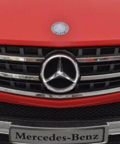 Elektrisk ride-on bil, Mercedes Benz ML350, rød, 6 V, m/fjernbetjening