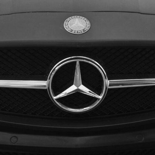 Elektrisk ride-on bil, Mercedes Benz SLS AMG, sort, 6 V fjernbetjening