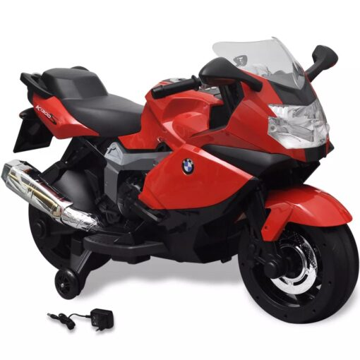 BMW 283 Elektrisk Motorcykel til børn, rød 6 V