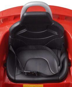 Audi TT RS Sit Bil for børn med hvid fjernbetjening Rød