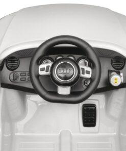vidaXL Audi TT RS bil til børn fjernbetjening hvid