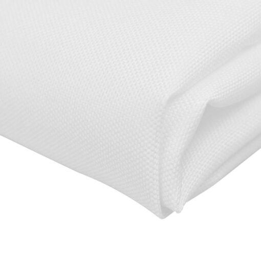 10 Middagsservietter Hvid 50 x 50 cm