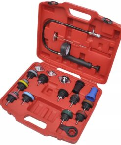 Radiator tryktest kit, 18 dele