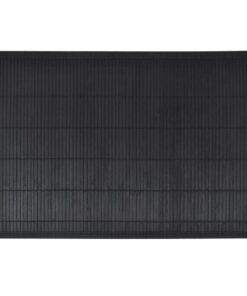 6 Bambusdækkeservietter 30 x 45 cm sort