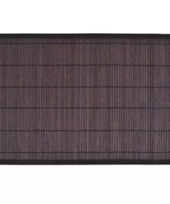 vidaXL bambusdækkeservietter 30×45 cm 6 stk. mørkebrun