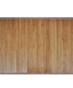 2 Bambusbademåtter 40 x 50 cm brun