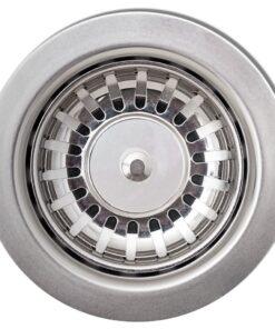vidaXL nedfældningsvask til køkkenet enkeltvask granit sort