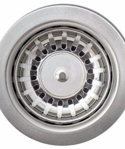 vidaXL nedfældningsvask til køkkenet enkeltvask granit cremehvid