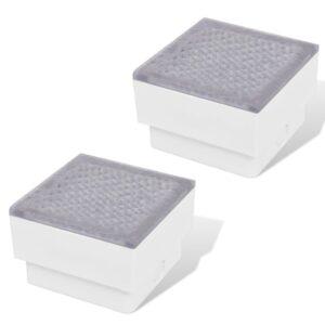 2 LED Nedgravet lys 100 x 100 x 68 mm