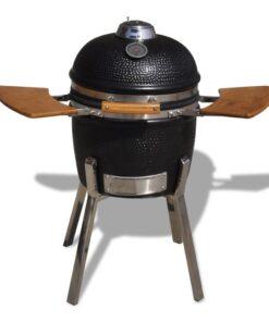 Kamado barbecue grill røgeovn keramisk 81 cm