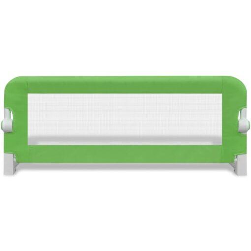 vidaXL sengegelænder til barneseng 102 x 42 cm grøn