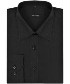 3 business-skjorter til mænd Str. M Sort