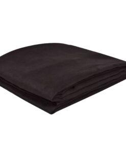 Sofaovertræk i micro-suede, brunt, 270×350 cm