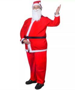 Julemandskostume Sæt i 5 dele