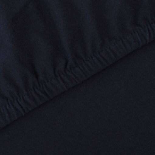 vidaXL sofaovertræk, stræk, sort, bomuldsjersey