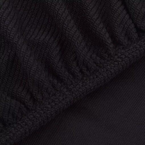 vidaXL Strækbare stolebetræk 6 stk Brun Polyester