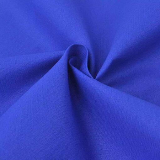vidaXL bomuldsstof 1,45 x 20 m blå