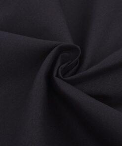 vidaXL sengesæt bomuld sort 155×220/80×80 cm