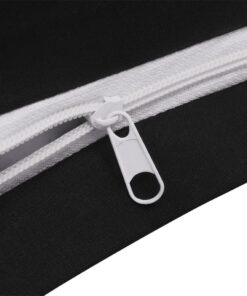 vidaXL sengetøj 155×220/80×80 cm bomuld