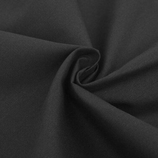vidaXL sengesæt 155×200/60×70 cm bomuld antracitgrå