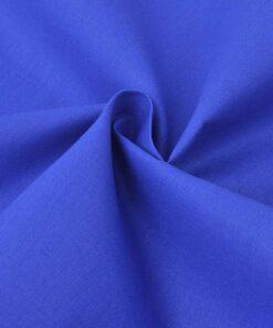 vidaXL sengesæt 155×220/60×70 cm bomuld blå