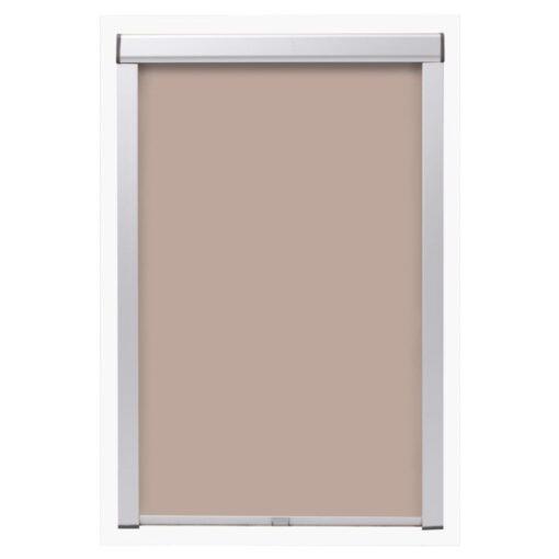 vidaXL mørklægningsrullegardin beige M06/306
