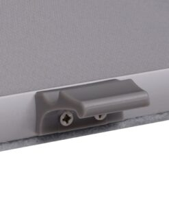 vidaXL mørklægningsrullegardin grå 206