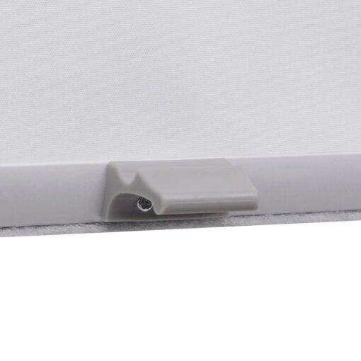 vidaXL mørklægningsrullegardin hvid P08/408