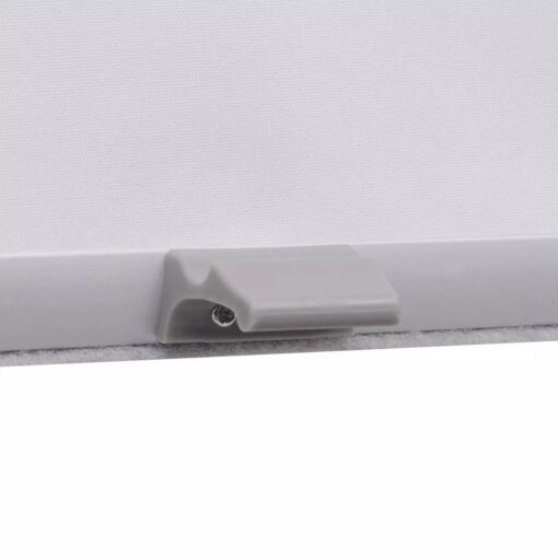 vidaXL mørklægningsrullegardin hvid U08/808