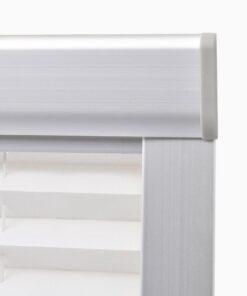 vidaXL plisseret rullegardin hvid 206