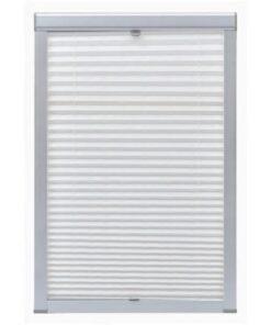 vidaXL plisseret rullegardin hvid S08/608