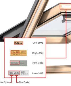 vidaXL plisseret rullegardin cremefarvet 206