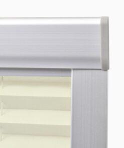 vidaXL plisseret rullegardin cremefarvet P08/408