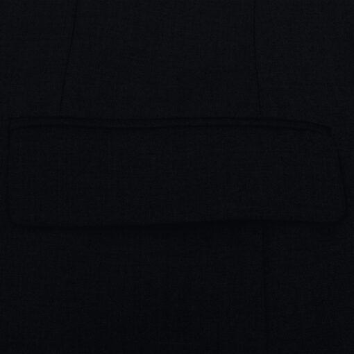VidaXL Mænd 2 Jakkesæt Sort Størrelse 54